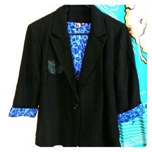 Hello Kitty Black Blazer junior XL/women's L